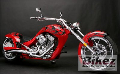 2009 Big Bear Choppers Paradox 114 EFI X-Wedge